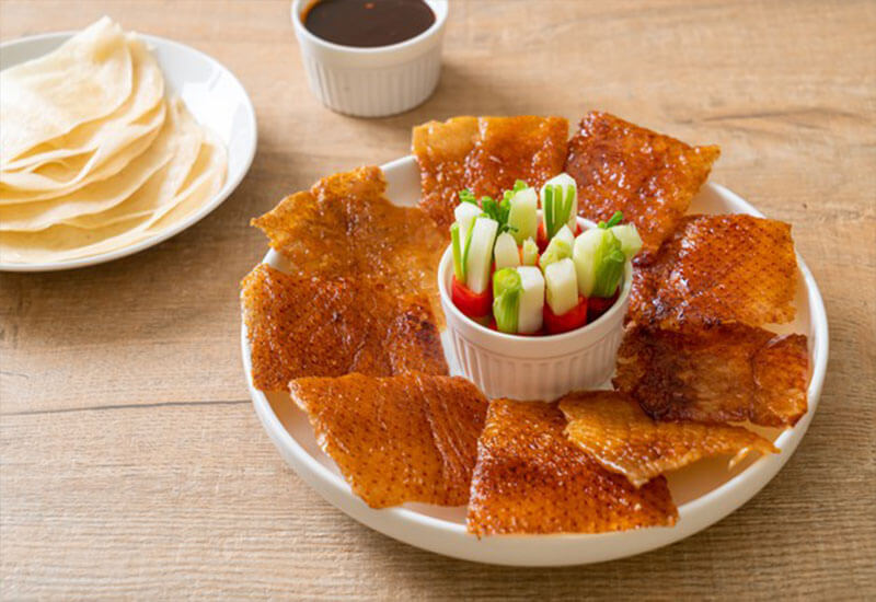 Peking duck: chinese traditional food